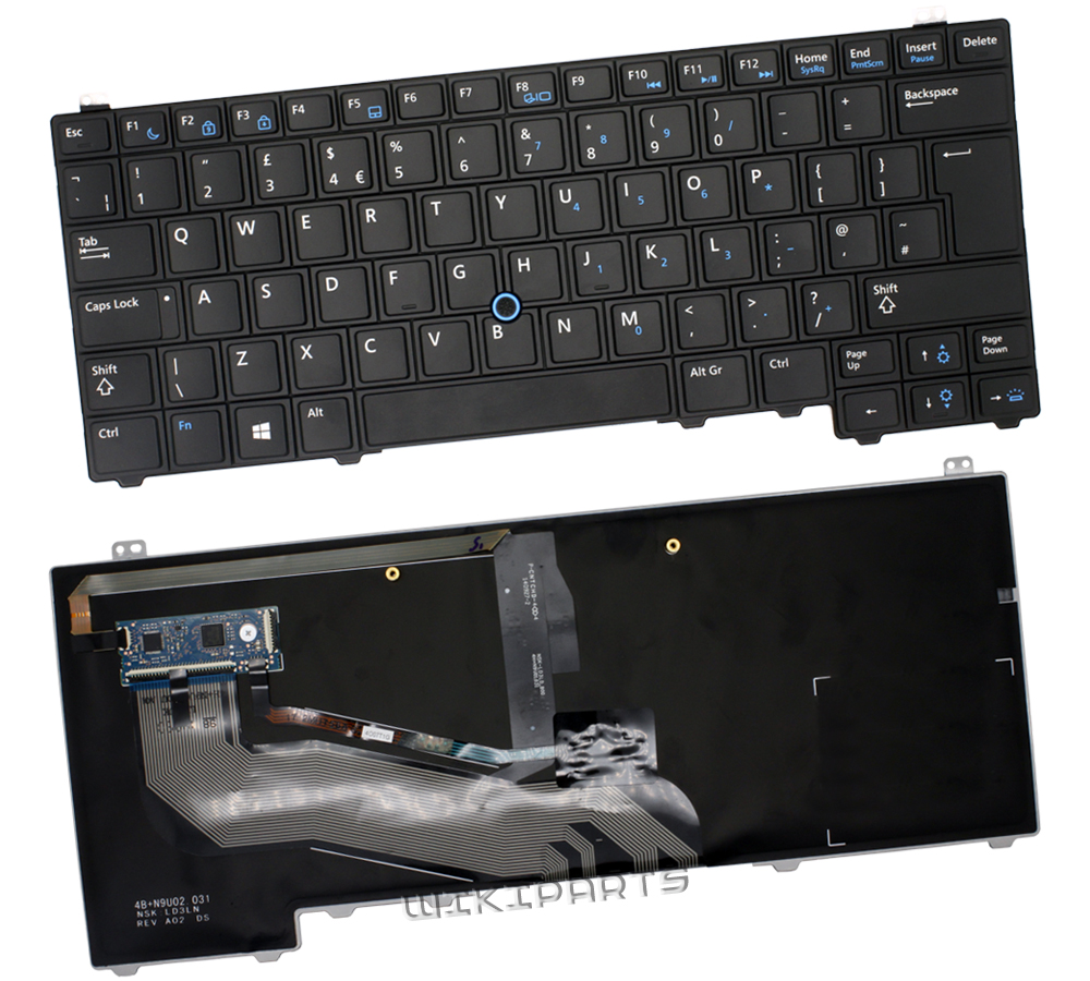 Genuine Dell E5440 Laptop Keyboard without Ribbon Cable Y4H14 0Y4H14